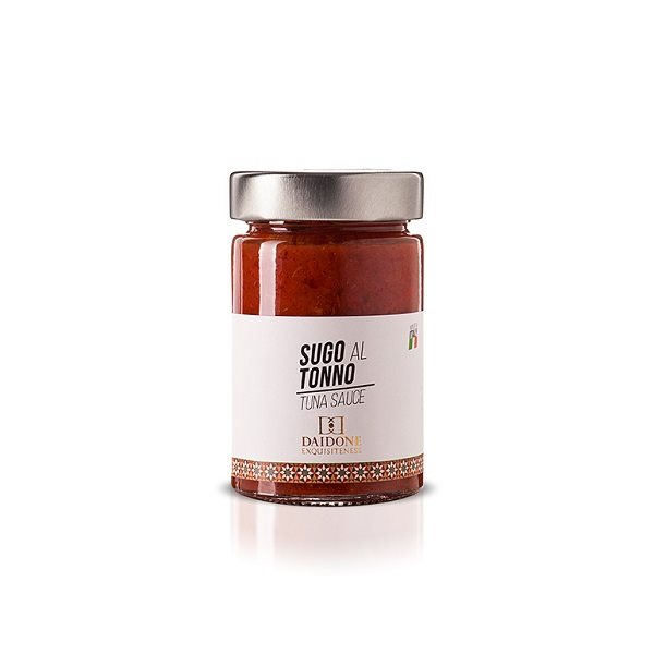 Handmade Sicilian Tuna Sauce - 190g Jar