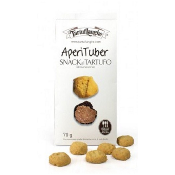 APERITUBER – TRUFFLE SNACK - 12 Packs of 70g