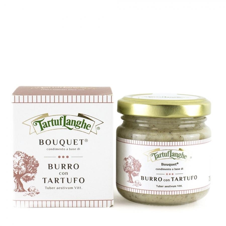 ''BOUQUET'' - BURRO CON TARTUFO  (Tuber aestivum Vitt.) - 12 Confezioni da 75g