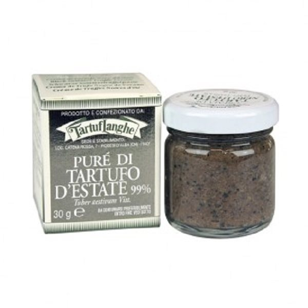 photo 99% SUMMER TRUFFLE PURÉE Tuber aestivum Vitt. - 12 Packs of 30g