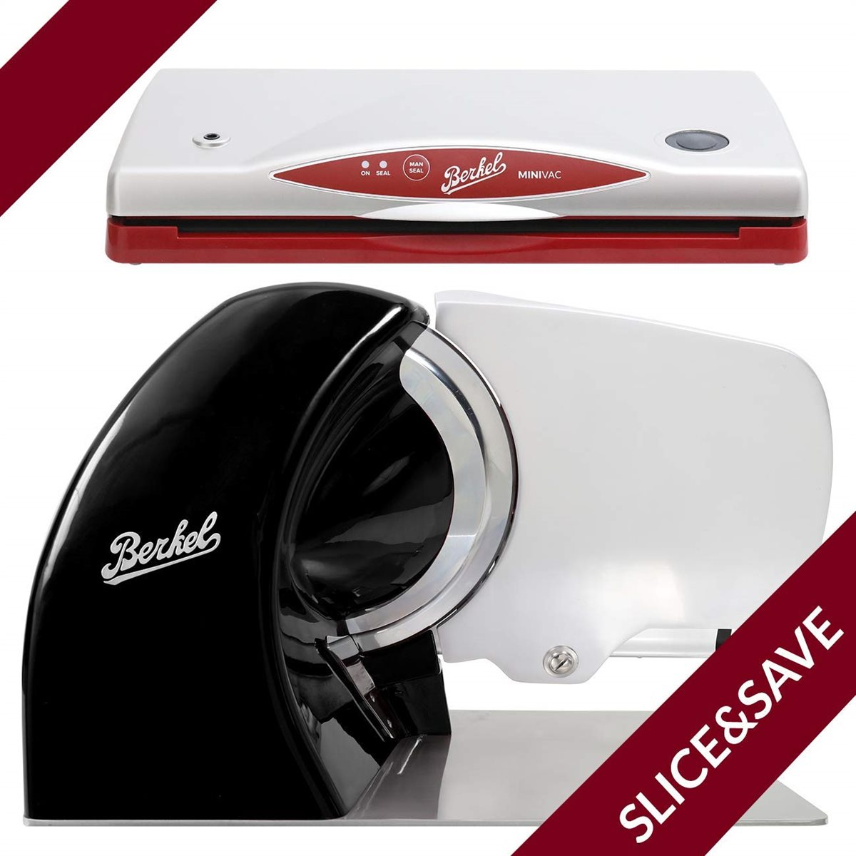 Allesschneider Home line 250 + Minivac - The Berkel System (Schwarz)