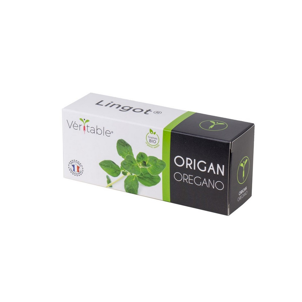photo 4 packs of Organic Oregano Lingot® - Compatible with all Types of Garden Veritable