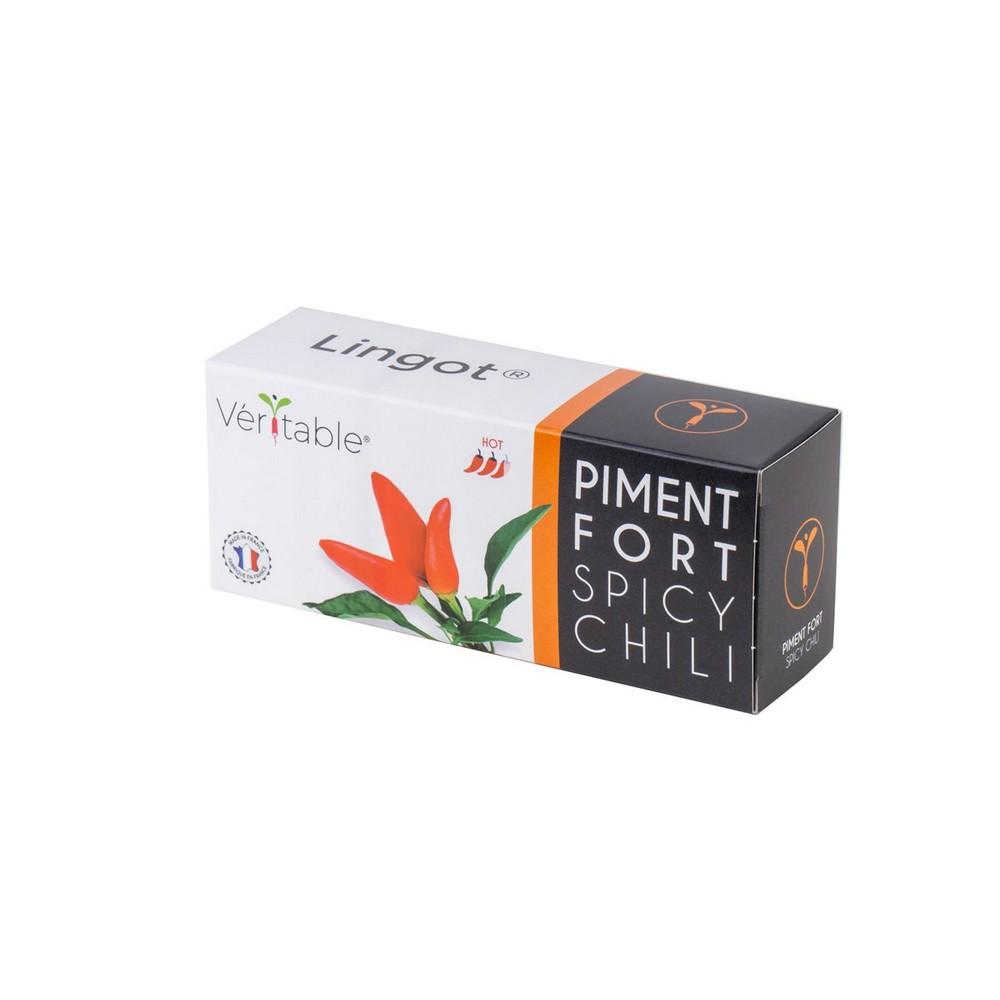 4 Packungen Hot Chili Lingot® - Kompatibel mit allen Gartentypen