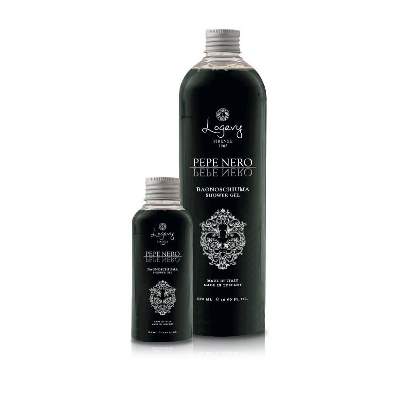 500 ml Körperwaschmittel - Macht Ihre Haut weich und hydratisiert - Schwarzer Pfeffer