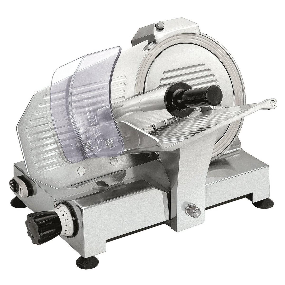 Affettatrice Modello GPR250 - Acciaio con Lama Teflon Ø 250 mm