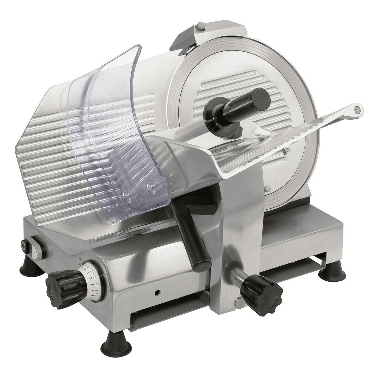 Affettatrice Modello GPR300 MN - Acciaio con Lama Inox Ø 300 mm