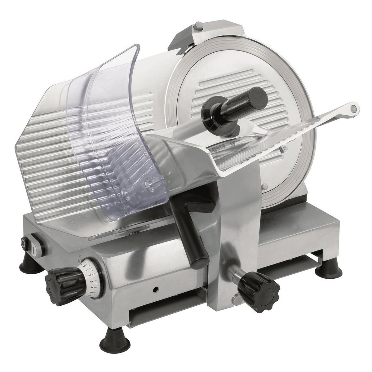 Affettatrice Modello GPR300 MN - Acciaio con Lama Teflon Ø 300 mm