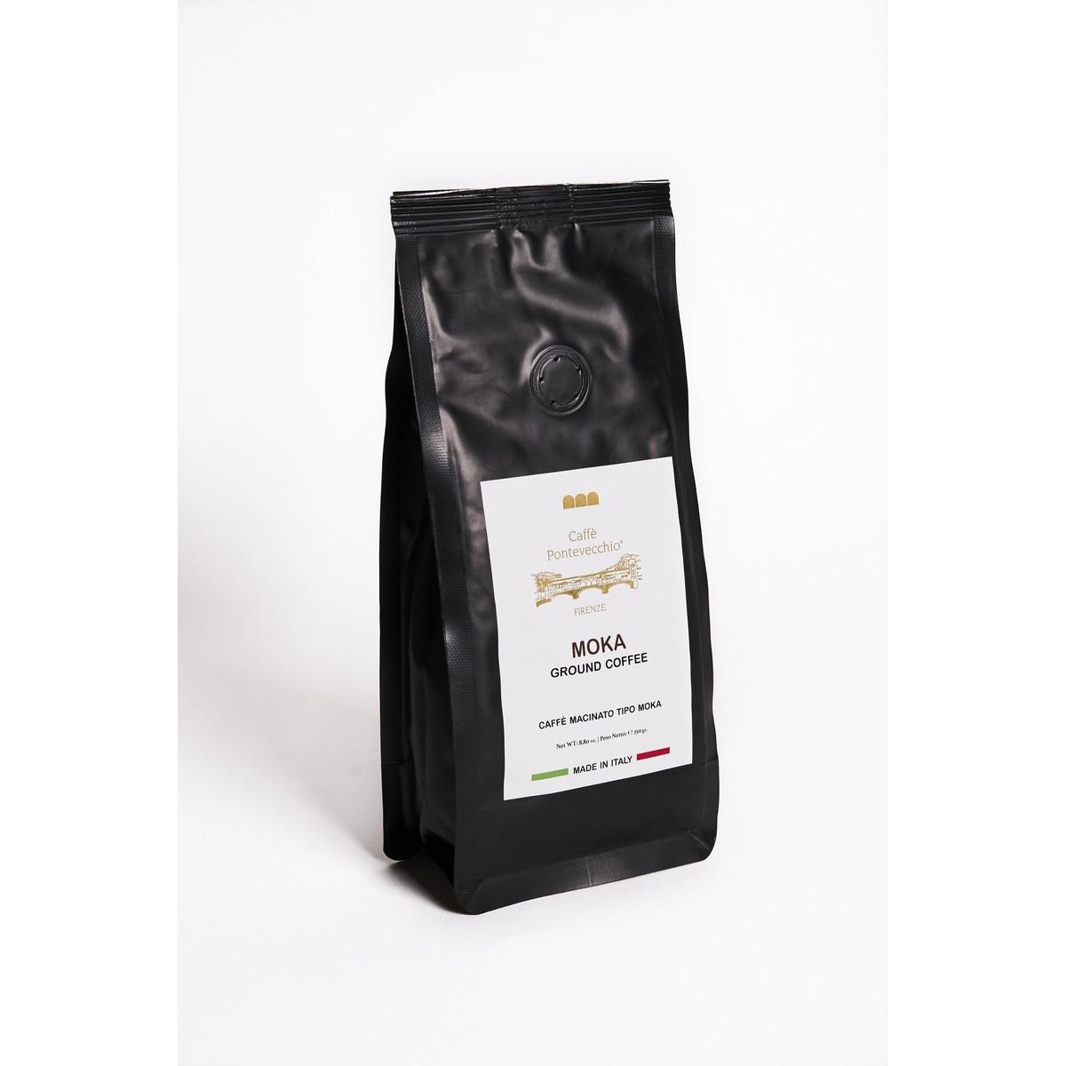 Caffè Macinato Tipo MoKa - BOX da 250 grammi Gran Coffee - 100% Robusta - gusto intenso