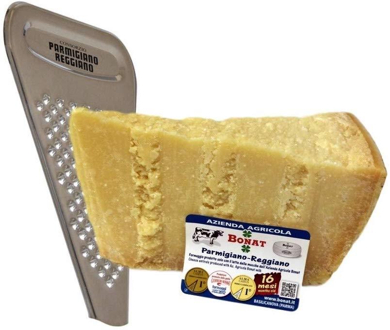 Parmigiano Reggiano 14/16 Months 1Kg + Cheese Grater