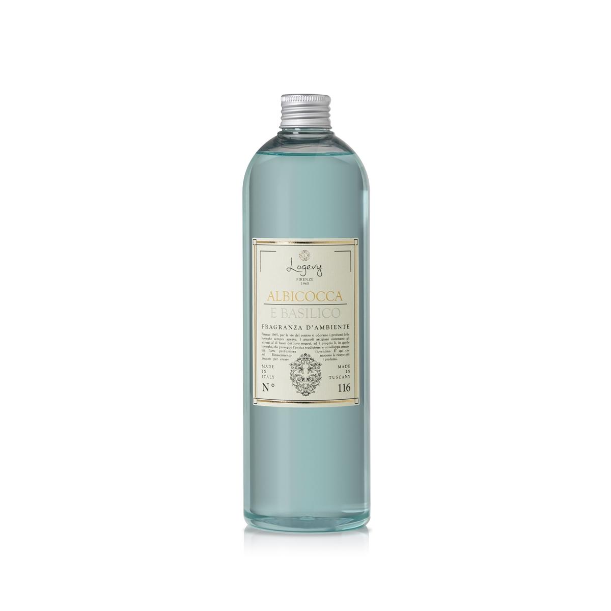 500 ml Nachfüllung Diffusers - Aprikose und Basilikum