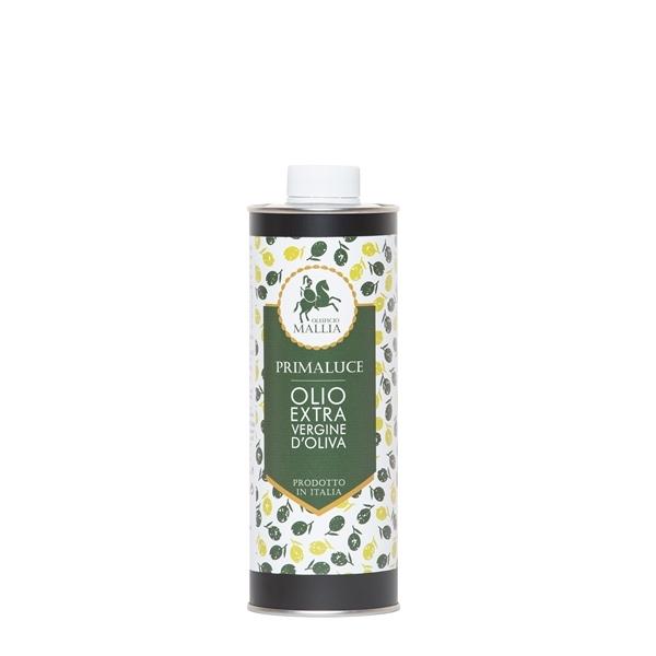 Natives Olivenöl Extra-12x0,5 L zylindrische Dosen-Handwerksprodukt aus 100% Italienischen Oliven