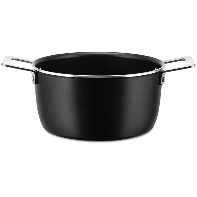 Alessi-Pots & Pans Casserole in non-stick aluminum suitable for induction