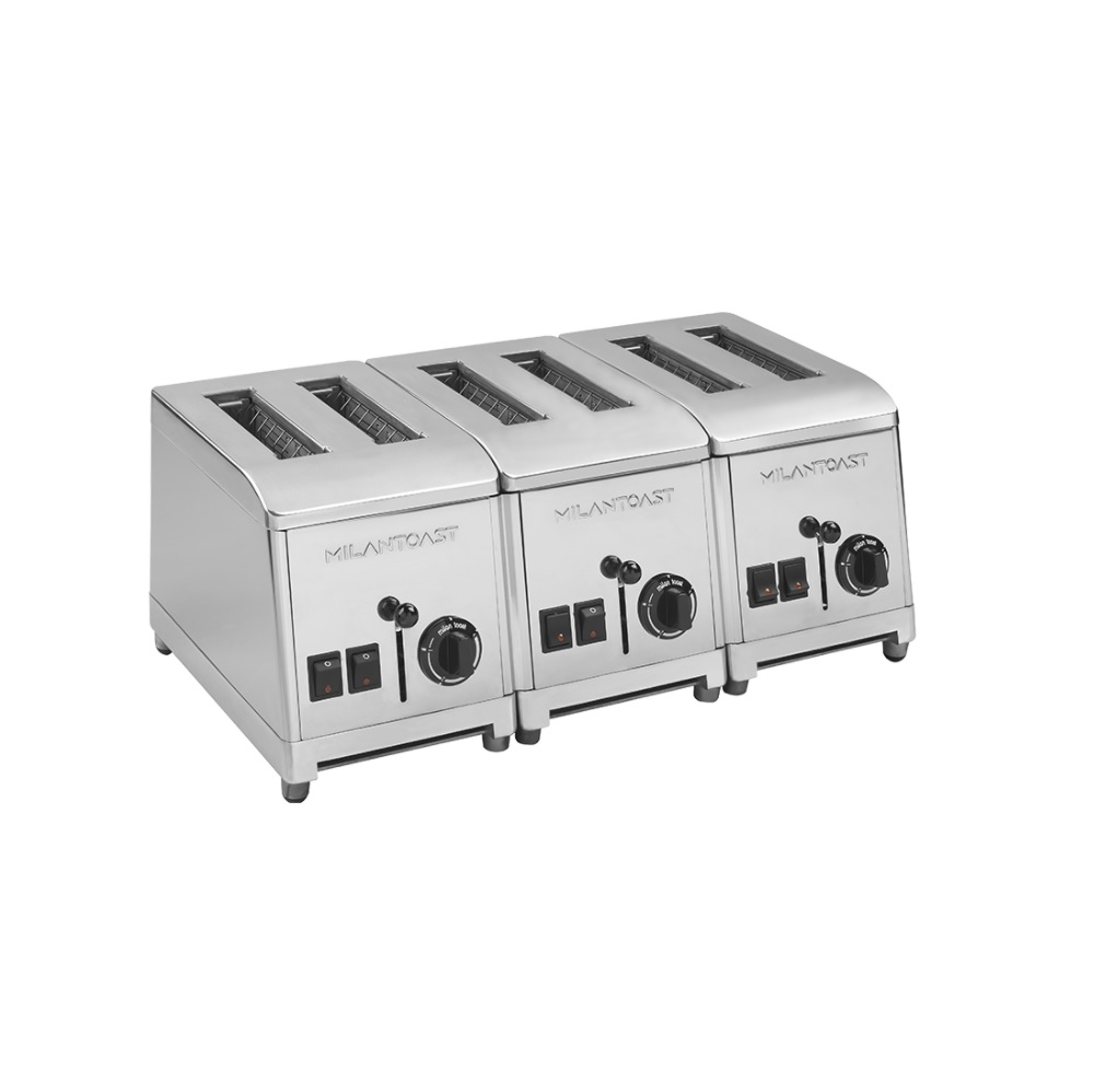 6-seater toaster stainless steel 220-240v 50 / 60hz 3.66 kw