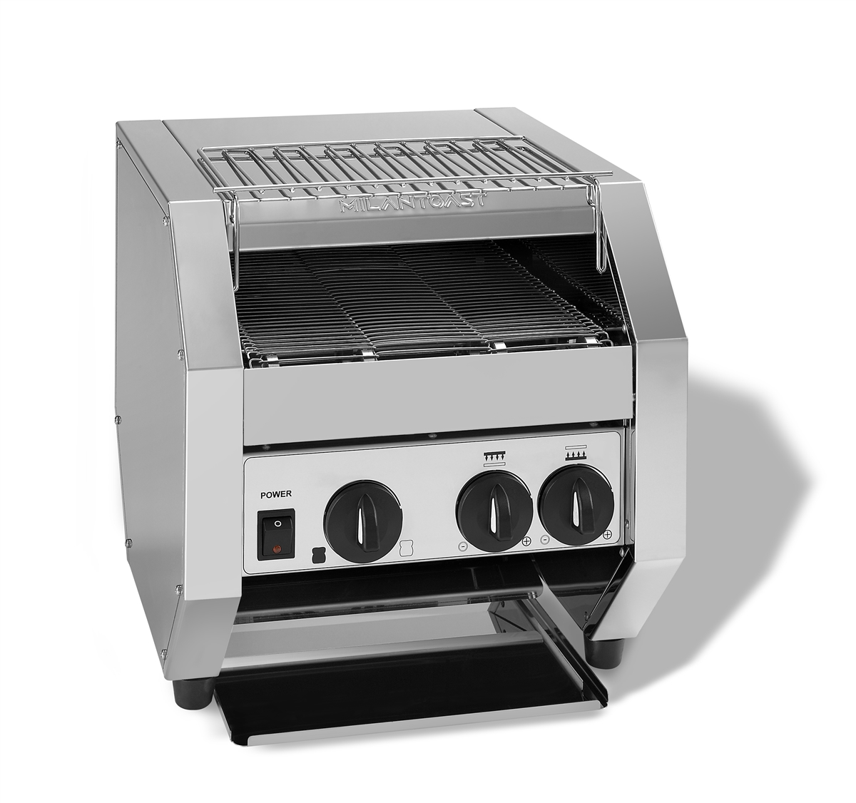 3 slices belt toaster with knob protection FULL OPTIONAL 220-240v 50 / 60hz 2,8kw