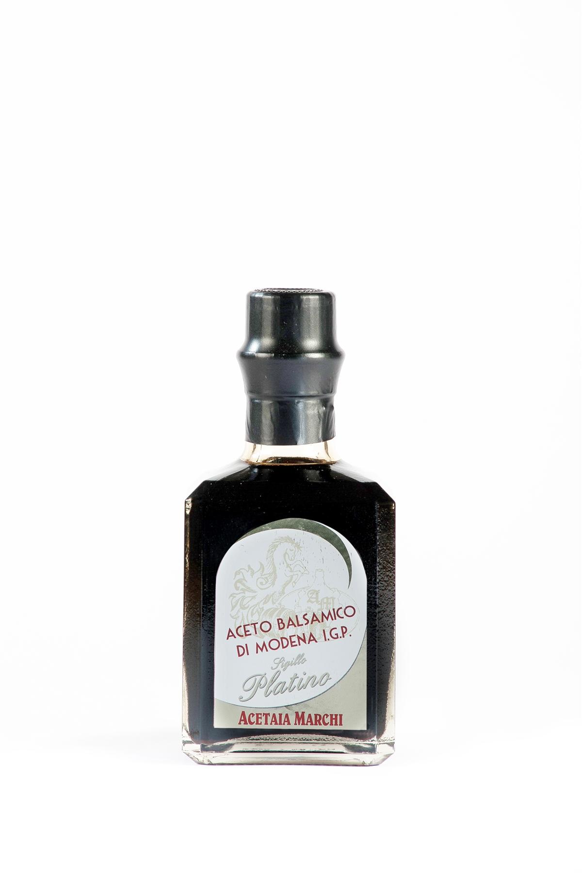 Aceto Balsamico di Modena IGP Sigillo PLATINO - bottiglia da 250ml
