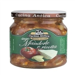 Cucina Antica Almond sauce and ricotta