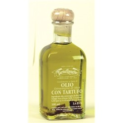 TartufLanghe Extra Virgin Olive Oil with Summer Truffle slices