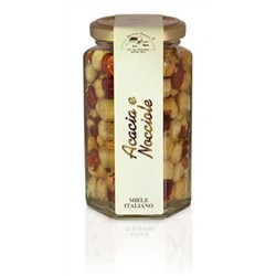 Acacia Honey with hazelnuts 320gr jar