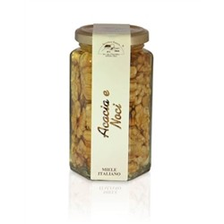 Acacia Honey with Nuts 350g jar