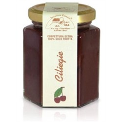 Extra jam jar 200gr 100% CHERRIES