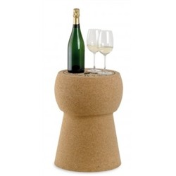 Renoir Stool in solid cork Tappone
