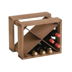 Cantinetta wood for 12 bottles