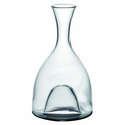 Renoir Decanters Verona made to Mouth Blown Crystal Clear, Fade to Fan