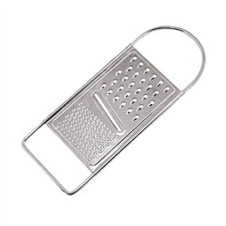 Mercury Coarse Grater in stainless steel 18/8
