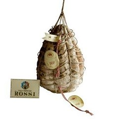 Salumificio Rossi Culatello di Zibello DOP with unpeeled rope (4,0-4,5Kg) - whole