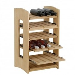 Cabinet with 6 shelves for 30 bottles