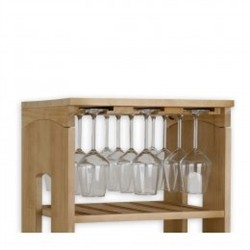 Renoir Component door glasses for completion cabinets