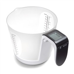 ADE Digital kitchen scale with removable carafe