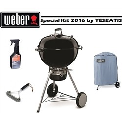 WEBER New Special 2016 - Master touch GBS Black 57 cm + Brush + Detergent + Coverage