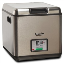YesEatIs SousVide Supreme - Circulating Bath for Low Temperature Cooking in Vacuum, 11 Litres