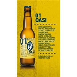 BIRRA ARTIGIANALE OASI - BOX OF 6 BOTTLES (6x33cl)