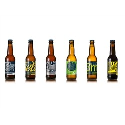 Birrificio Rurale BIRRA ARTIGIANALE - TASTING mix of 6 Craft Beers (6x33cl)