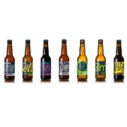 BIRRA ARTIGIANALE - ELITE mix of 8 Craft Beers (8x33cl)