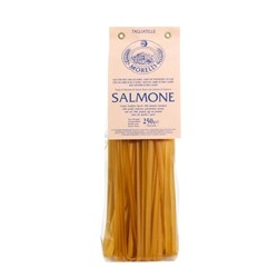 Antico Pastificio Morelli Noodles with Salmon - Pack of 4 packs (4 x 250g)