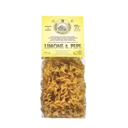 Antico Pastificio Morelli Pappardelline Lemon and Pepper - Pack of 4 packs (4 x 250g)