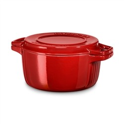 IRON CASSEROLE 28 cm rot IMPERIAL