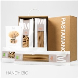 Farm MANCINI HANDY BIO - gift pack containing 5 bags of 500 gr Of Assorted Sizes Integral BIO