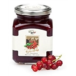 Fruit Jam (2 x 340g) - RED CURRANT - Handmade In Italy