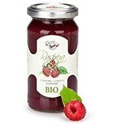 BIO fruit Jam (2 x 220g) - RASPBERRY - Handmade In Italy
