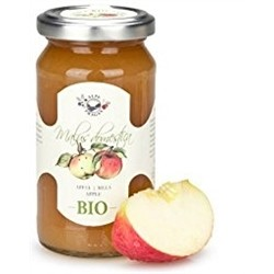 BIO fruit Jam (2 x 220g) - APPLE - Handmade In Italy
