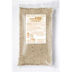 Principato di Lucedio Rice brown RIBE - 5 kg - in Cellophane bag with protective atmosphere