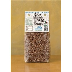 Principato di Lucedio Brown Rice RED ERMES - 1 kg - in Cellophane bag with protective atmosphere