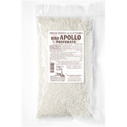 Principato di Lucedio Rice perfumed APOLLO - 1 kg - in Cellophane bag with protective atmosphere