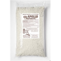 Principato di Lucedio Rice perfumed APOLLO - 5 kg - in Cellophane bag with protective atmosphere