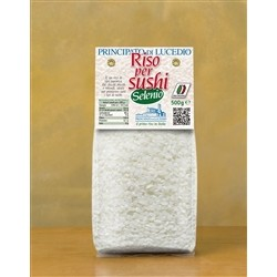 Principato di Lucedio Rice SELENIUM FOR Sushi - 5 kg - in Cellophane bag with protective atmosphere