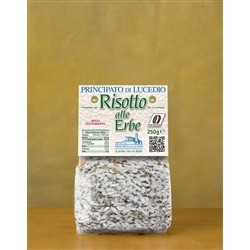 Principato di Lucedio Risotto with Herbs - 250 g - in Cellophane bag with protective atmosphere